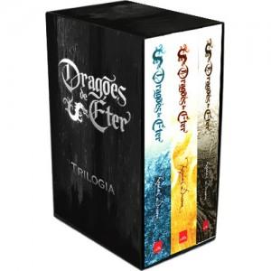 Kit - Box Dragões de Éter + Fios de Prata (4 livros)